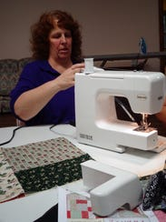 Donna Miller, of Windsor, started the Crazy Quilters
