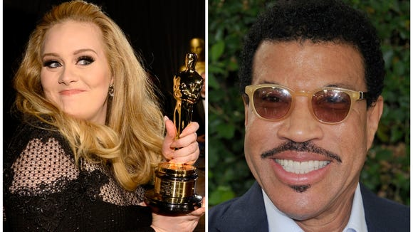We have a long-distance dedication from Lionel to Adele.