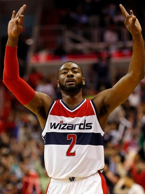 John Wall had 16 points and 12 assists for the Wizards.