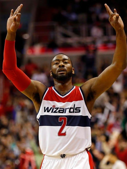 268ceebed45 John Wall finally bests Derrick Rose as Wizards roll by Bulls