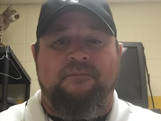 Fayette-Ware head football coach Scott Blair