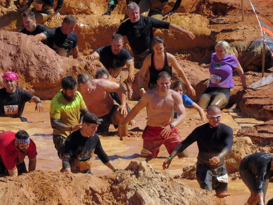 About 4,500 people have registered so far for the Tough Mudder Gulf Coast April 9 and 10 at the Ates Family Ranch in East Milton. Tough Mudder is returning for two days this year after making its single-day Gulf Coast debut at the same location in 2015.