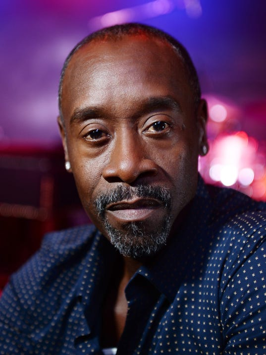 "Don Cheadle Visits Legendary London Jazz Venue Ronnie Scott's Ahead Of Release Of Miles Davis Film ""Miles Ahead"""