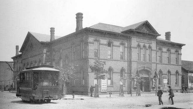 Evans Hall eventually fell in to disrepair and was razed in 1930 to make way for the construction of the Central Library building, which now houses the Children's Museum of Evansville.