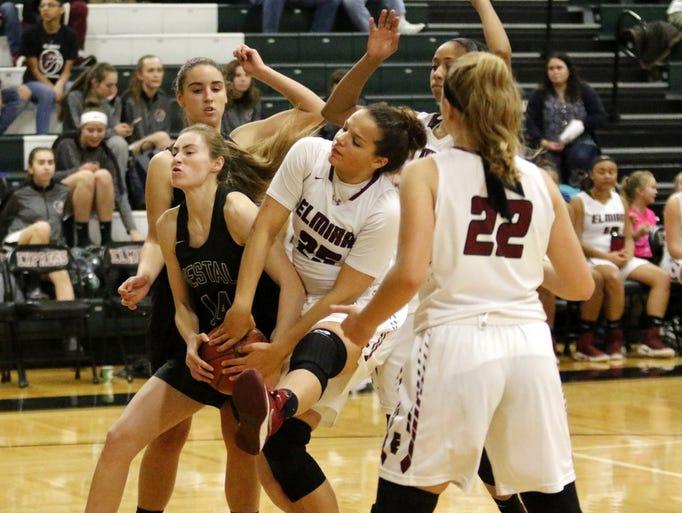 Elmira was a 79-26 winner over Vestal in girls basketball