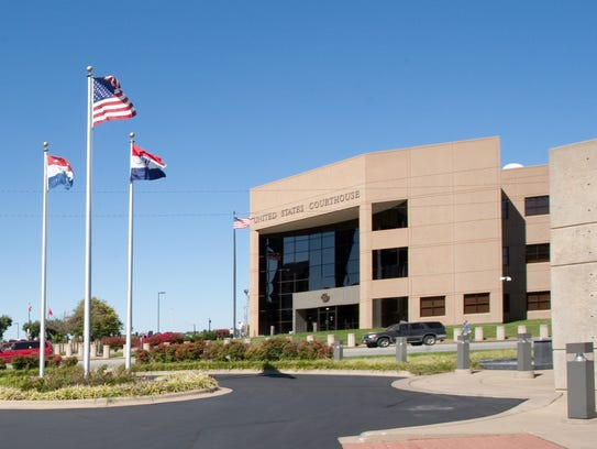 The federal courthouse in Springfield