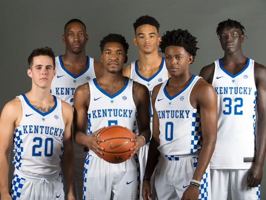 Kentucky Wildcats Basketball 2016 17 Season Preview: Meet The Cats With Courier-Journal's