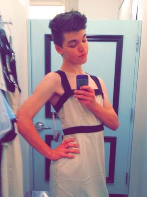 "Leelah Alcorn was a transgender woman, who committed suicide Sunday, December 28, 2014. She left a suicide note on Tumblr that said, ""The only way I will rest in peace is if one day transgender people aren't treated the way I was, they're treated like humans, with valid feelings and human rights."" She continued,""My death needs to mean something."""
