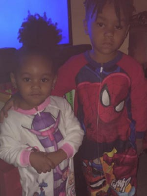 Paris Enani Scott, 2, (left) and Patrick Earl Scott III, 4, were last seen at the Econolodge motel on East Merrit Island Causeway. Patrick was last seen wearing the Spiderman pajamas pictured.