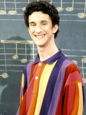"Dustin Diamond, best known for playing ""Screech"" on TV's ""Saved by the Bell."""