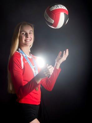 Lindsay Glynn of South Fork High School, all-area girls