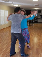 Shippen and Rifle Salas will be performing a waltz at COPEs Dancing for the Cure.