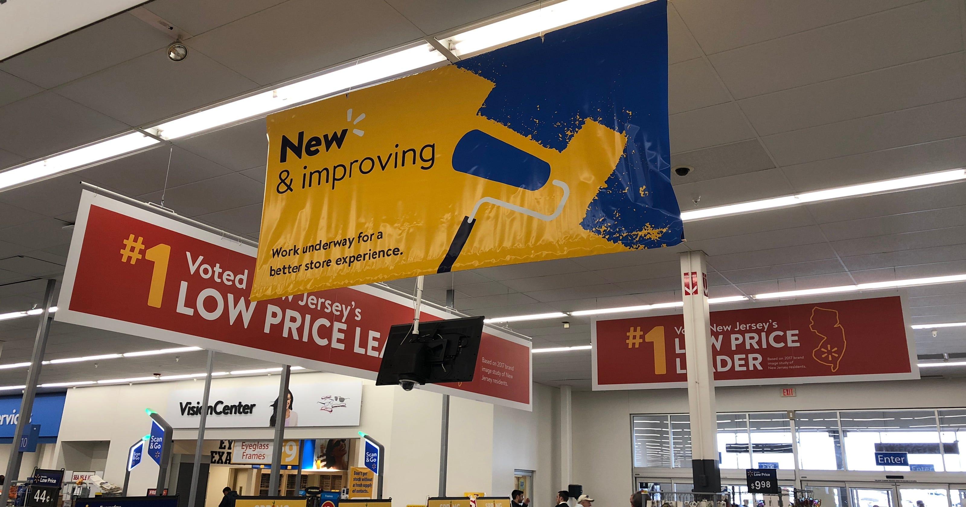 Walmart renovating Howell, Brick stores