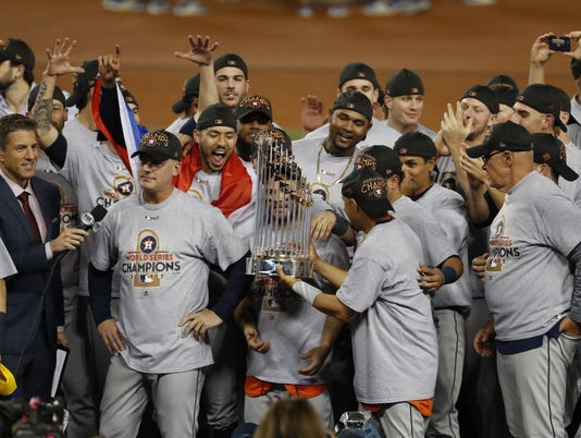 Houston Astros at Los Angeles Dodgers