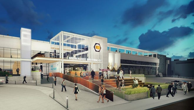 Milwaukee Brewing Co. is seeking a $500,000 loan to help finance its new brewery at the former Pabst complex.