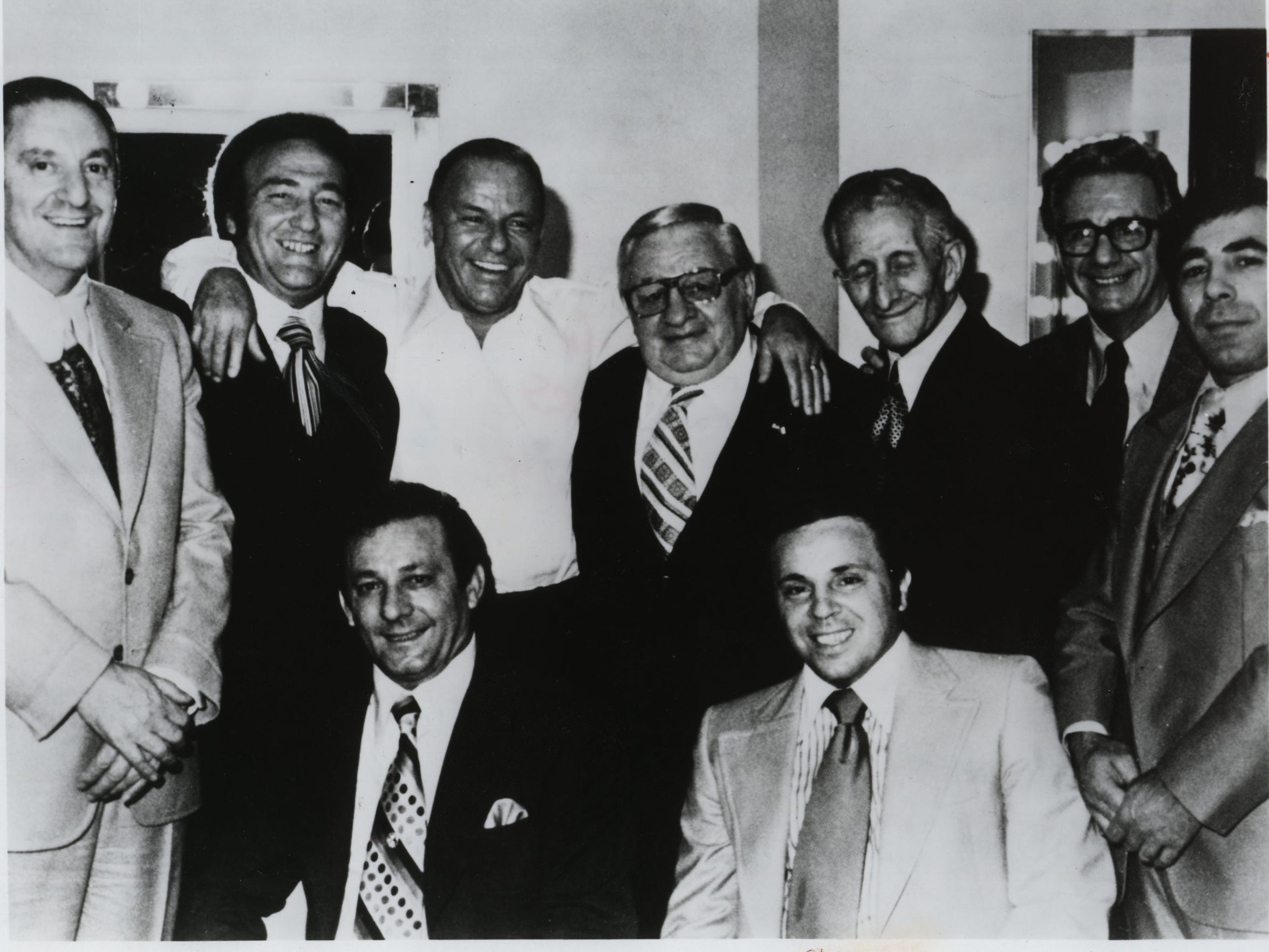 Paul Castellano (from left), Gregory DePalma, Frank