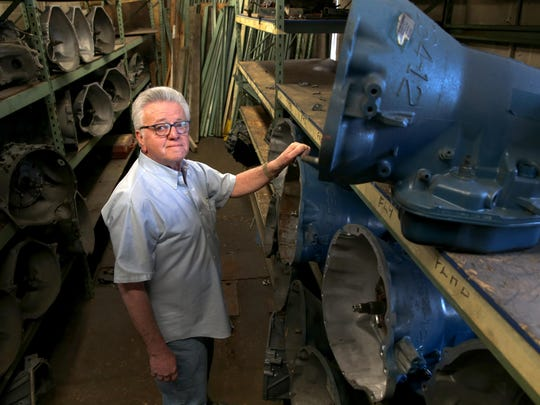 Milt Swartz, owner of Milt & Ron's Transmission, is still working at his shop that's been around for more than 50 years.