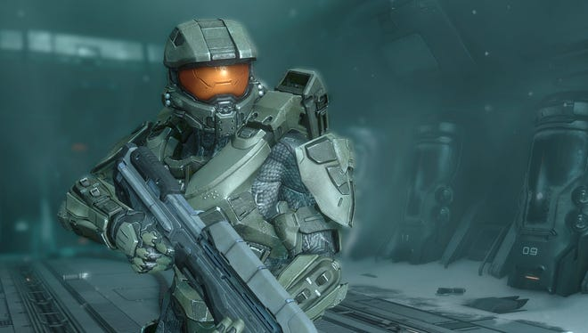 """In the video game Halo 4, main character the Master Chief awakes to face a new interstellar threat. Microsoft announced plans Friday to release the video game sequel """"Halo 5: Guardians"""" for the Xbox One and a """"Halo"""" television series to be produced by Steven Spielberg in fall 2015."""