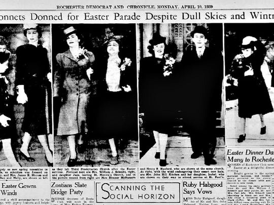 From the Archives: Easter parade, April 1939.