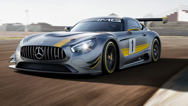 Mercedes-AMG has made a racing version of the GT supercar, the GT3
