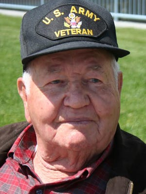 Sylvan W. Clark was a radio operator with the Army's 457th Antiaircraft Artillery Battalion.