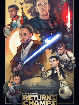 The force is strong with this poster.