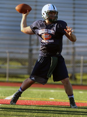 James Schuld of East Brunswick will play quarterback for Middlesex County in Snapple Bowl XXV