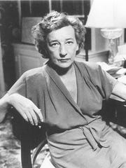 Playwright Lillian Hellman is shown in this undated
