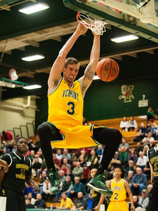 Southern Vermont vs. Vermont Men's Basketball 11/19/14