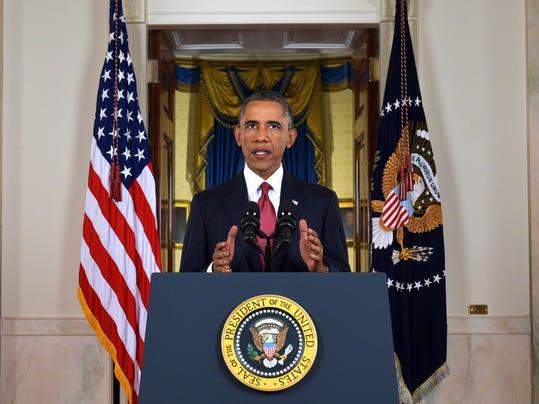 APTOPIX Obama Islamic State