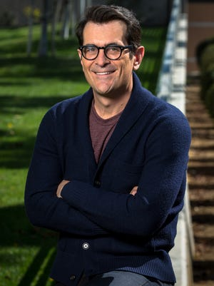 "Ty Burrell, popular star of ""Modern Family,"" branches out into voicing animation as the voice of Mr. Peabody in the new movie ""Mr. Peabody  and  Sherman."""