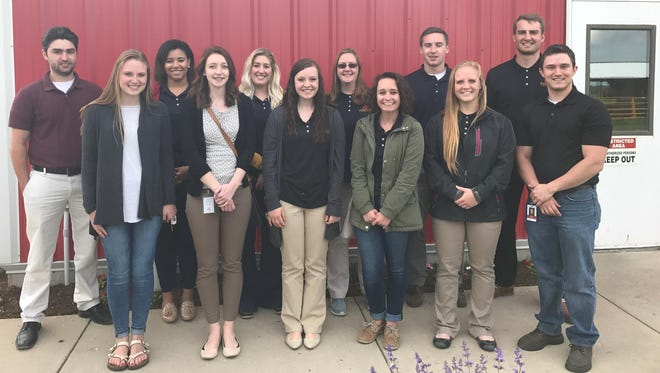 Badgerland Financial welcomed 11 students as part of its summer internship program. Interns include interns include: Sarah Beisbier, Reedsburg; Katie Engevold, Osseo; Turner Moen, Lake Mills; Anna Benzine, Fall River; Ashlin O'Brien, Fond Du Lac; Elliot Dederich, Sauk City; Erin Marchant, Brodhead; Jessica Tharp, Waverly; Keelyn Swanson, Byron; Logan Gutenberger, Westby; Lindsey Sarbacker,Stoughton; and Cody Jump, Richland Center.