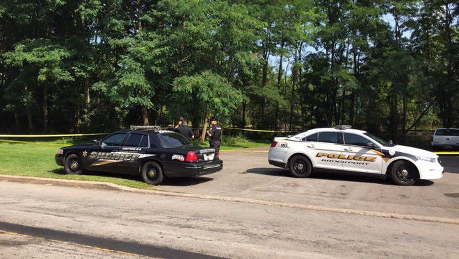 Monroe County Sheriff's deputies and Brockport police on scene of investigation early Saturday.