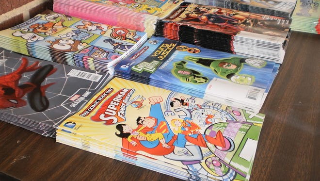 Free Comic Book Day is held the first Saturday each May.