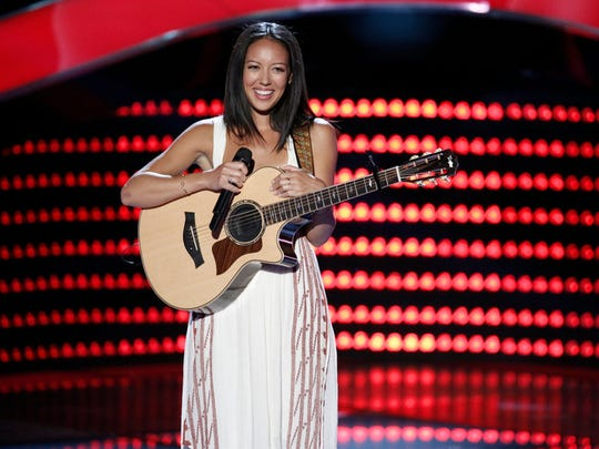 "In the Blind Auditions on Season 9 of ""the Voice,"""