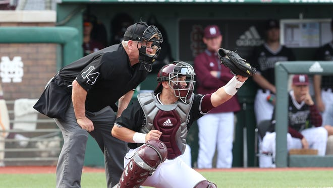 Mississippi State freshman catcher Elih Marrero grew up in major league clubhouses watching his dad play baseball.