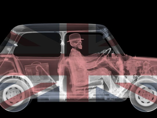 British photographer Nick Veasey's X-Ray cars will be on display at Evan Lurie Gallery.