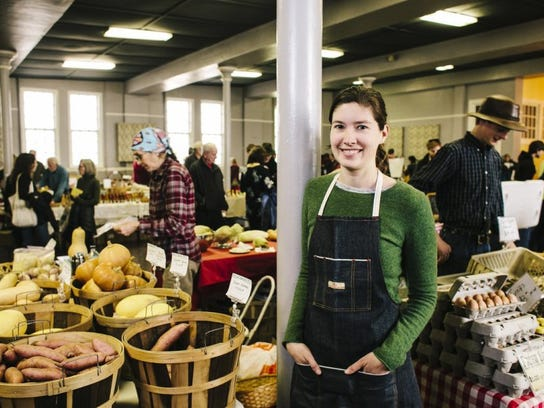 Charlotte Tolley of Nourish Knoxville is shown inside