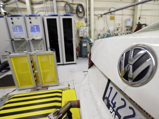 A Chattanooga-built Volkswagen Passat with a diesel