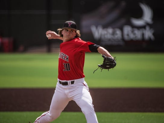 Texas Tech's Davis Martin started Game 3 of the Super Regional series for the Red Raiders on Monday against Duke in Lubbock.