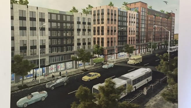 Rendering: MVP Realty Associates has proposed the $100 million The Point on South Fourth Ave.