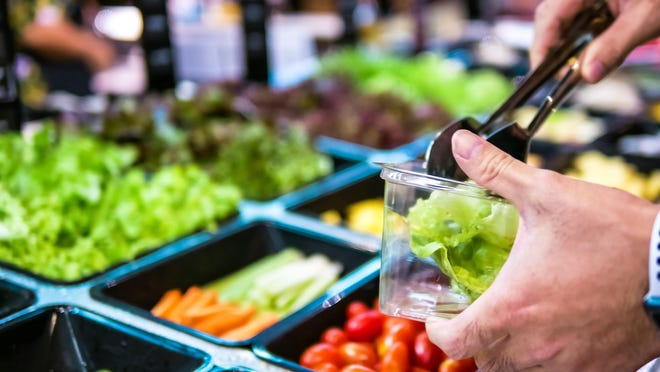 Some supermarket management teams are choosing to suspend salad bar sales for the time being due to COVID-19.