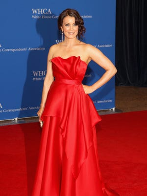 Actress Bellamy Young attends the 100th Annual White House Correspondents' Association Dinner at the Washington Hilton in May 2014