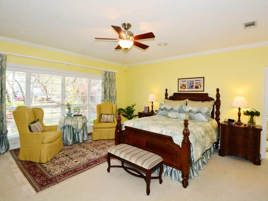 4904 Hickory Shores Boulevard, master bedroom with a view.