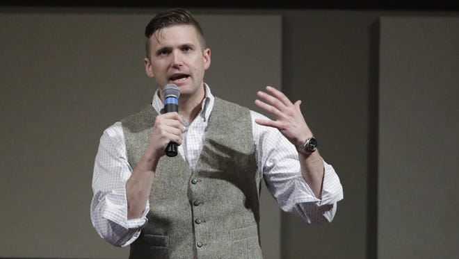 White nationalist leader Richard Spencer is scheduled to speak at UF on Oct. 19.