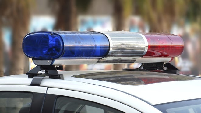 An overturned truck has closed the southbound lanes of Route 287 in Bernards.