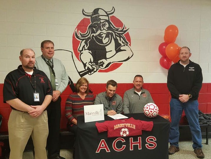 Avery County senior Nick Green has signed to play college soccer for Maryville (Tenn.).