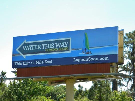 Drivers on Pritchett Parkway will notice a new billboard