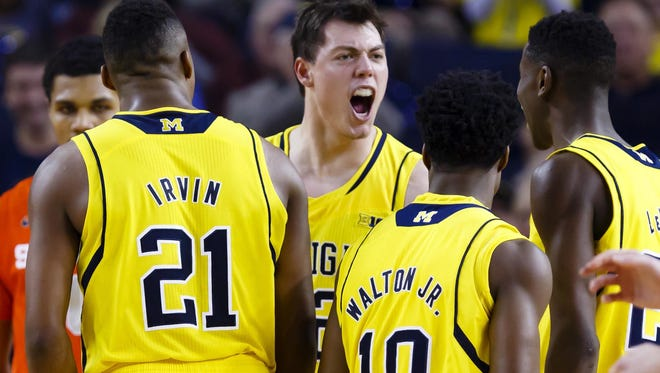 Michigan's Ricky Doyle was granted a release from his scholarship with the Wolverines in March.