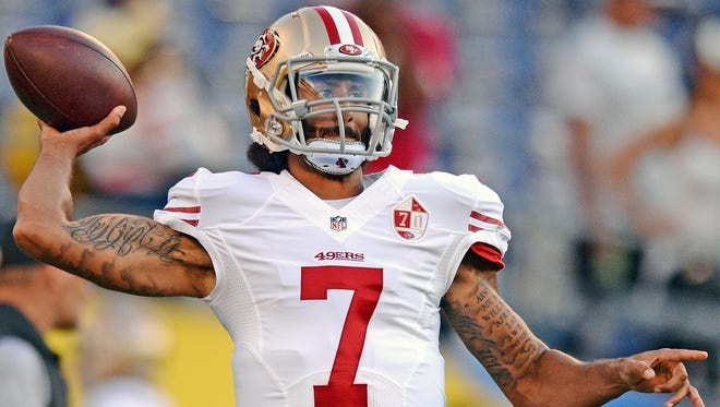 The NAACP president discussed Colin Kaepernick and his anthem protest.